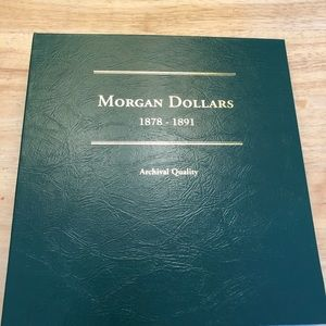 Morgan silver dollars collection 1878-1891